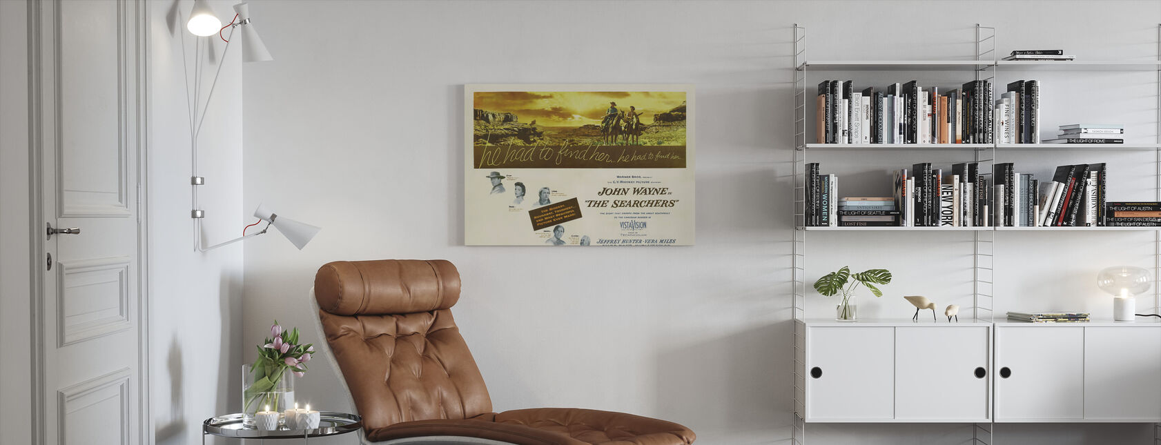 Searchers - Canvas print - Living Room