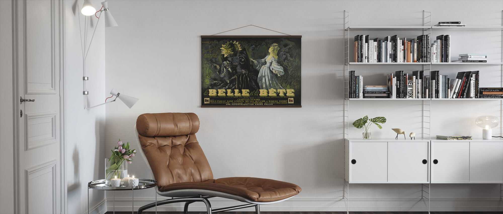 Beauty and the Beast - Poster - Living Room