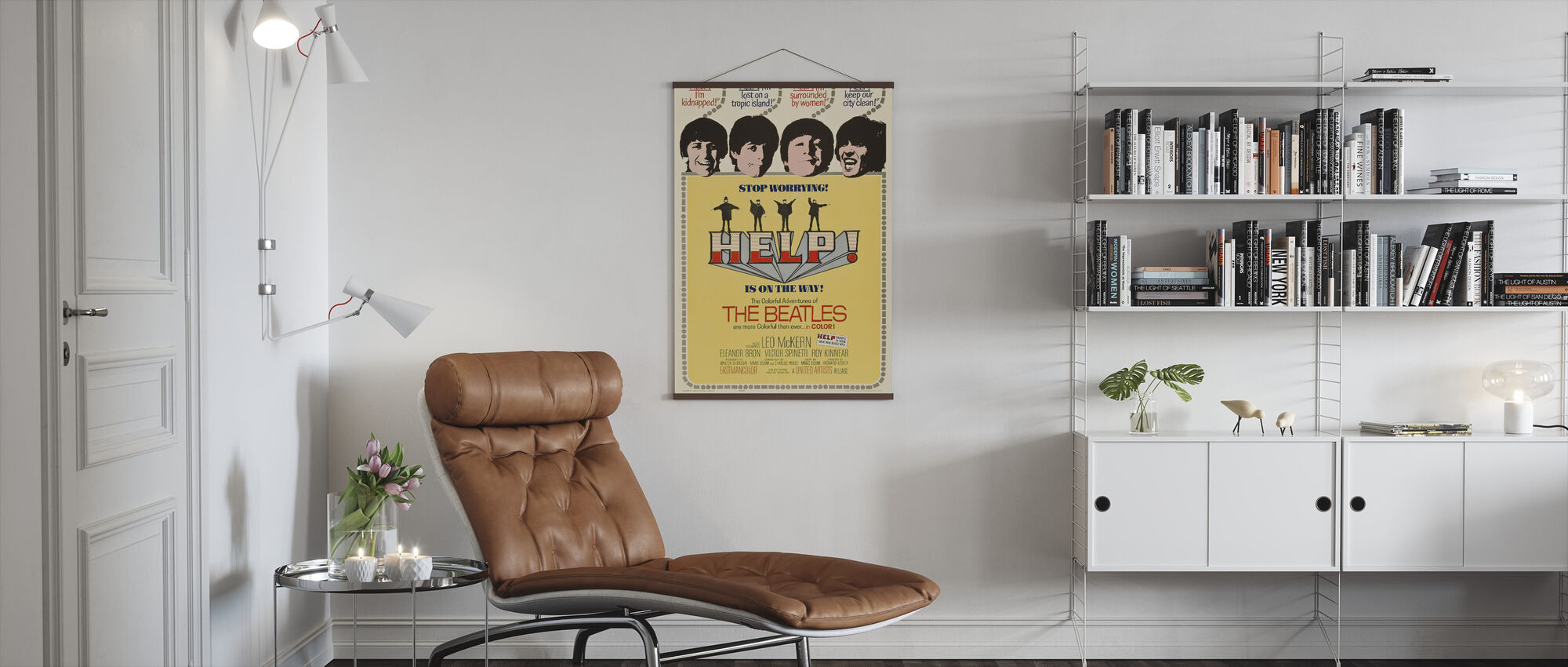 Help - Poster - Living Room