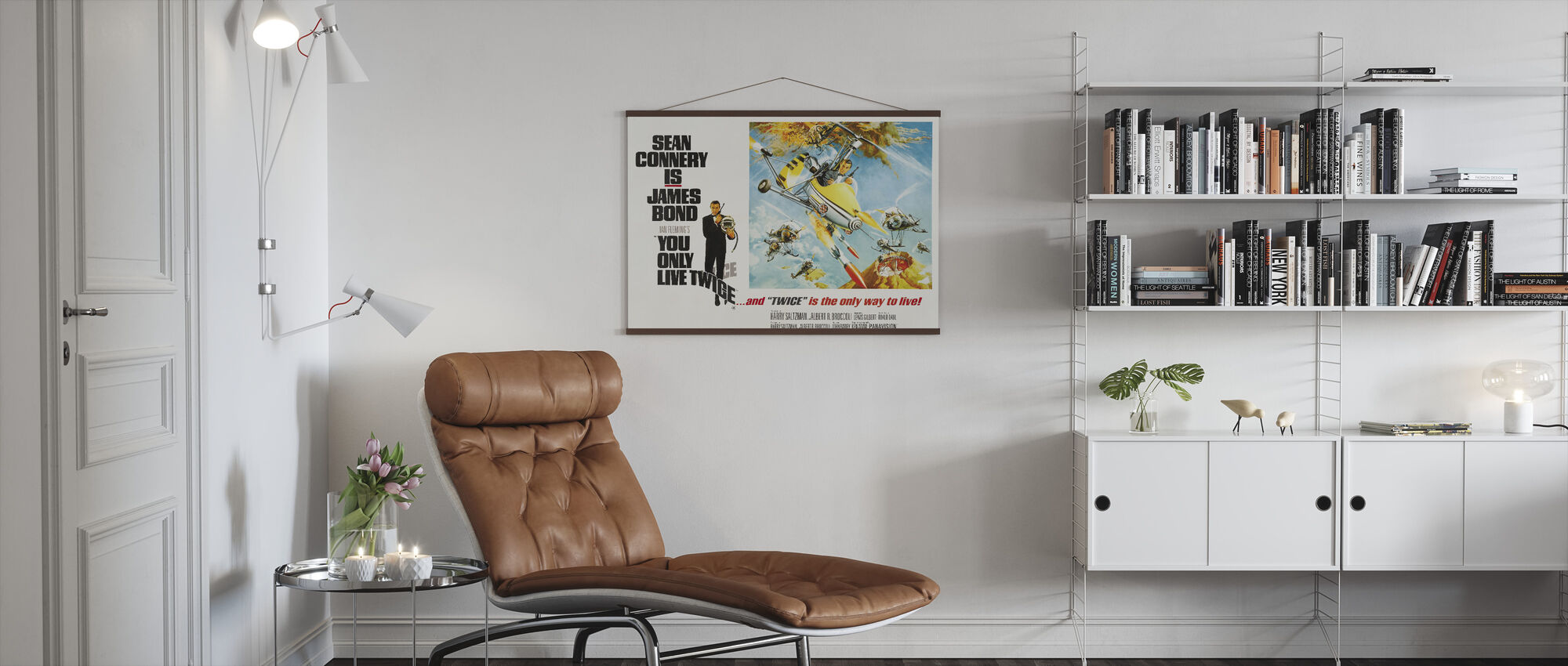 James Bond You Only Live Twice - Poster - Living Room
