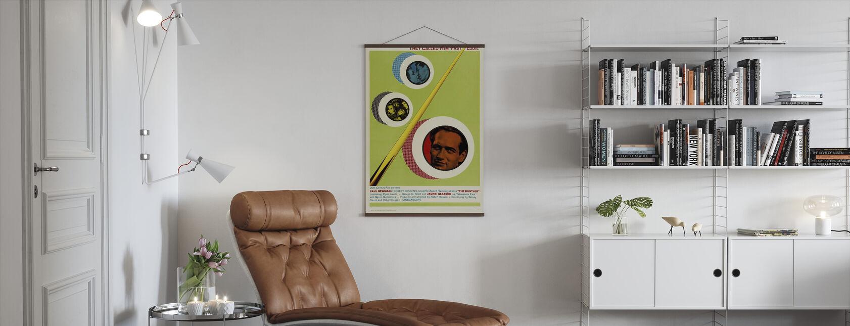 Hustler - Poster - Living Room