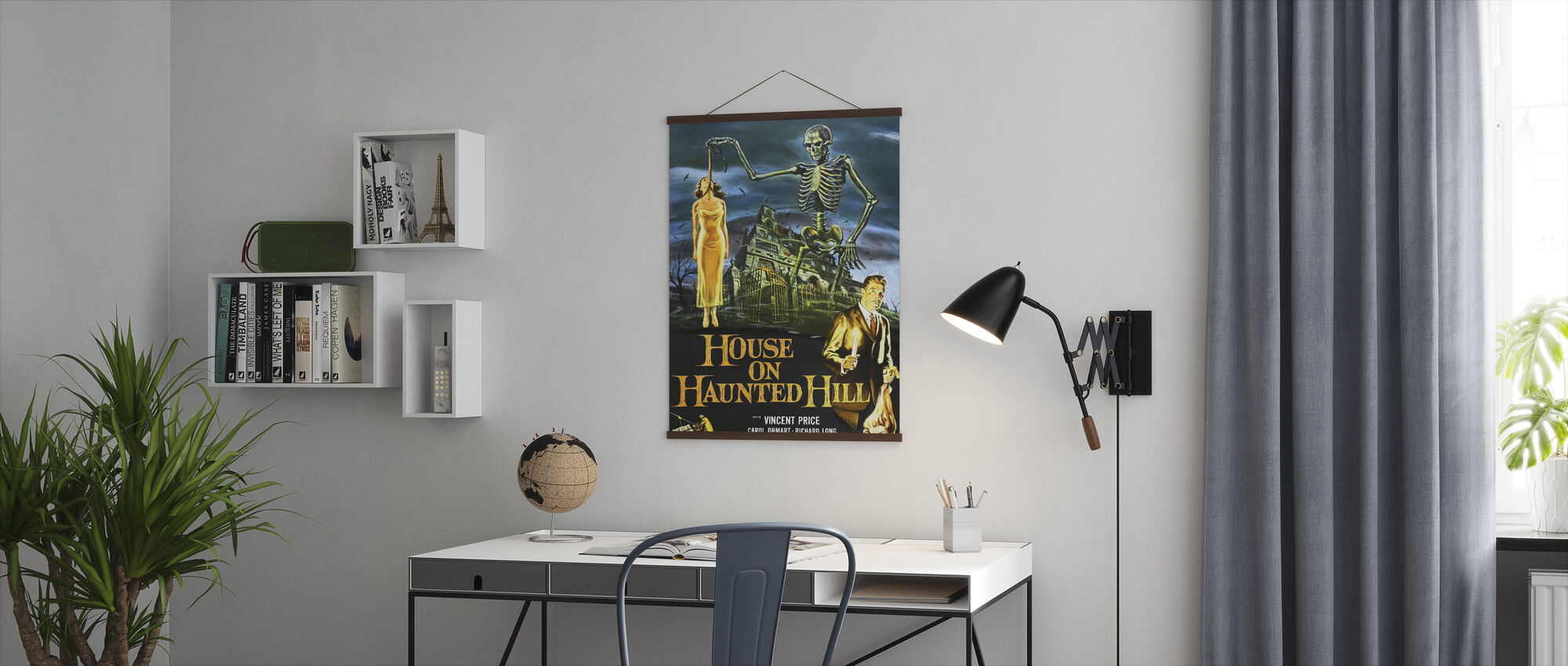 House on Haunted Hill - Poster - Office
