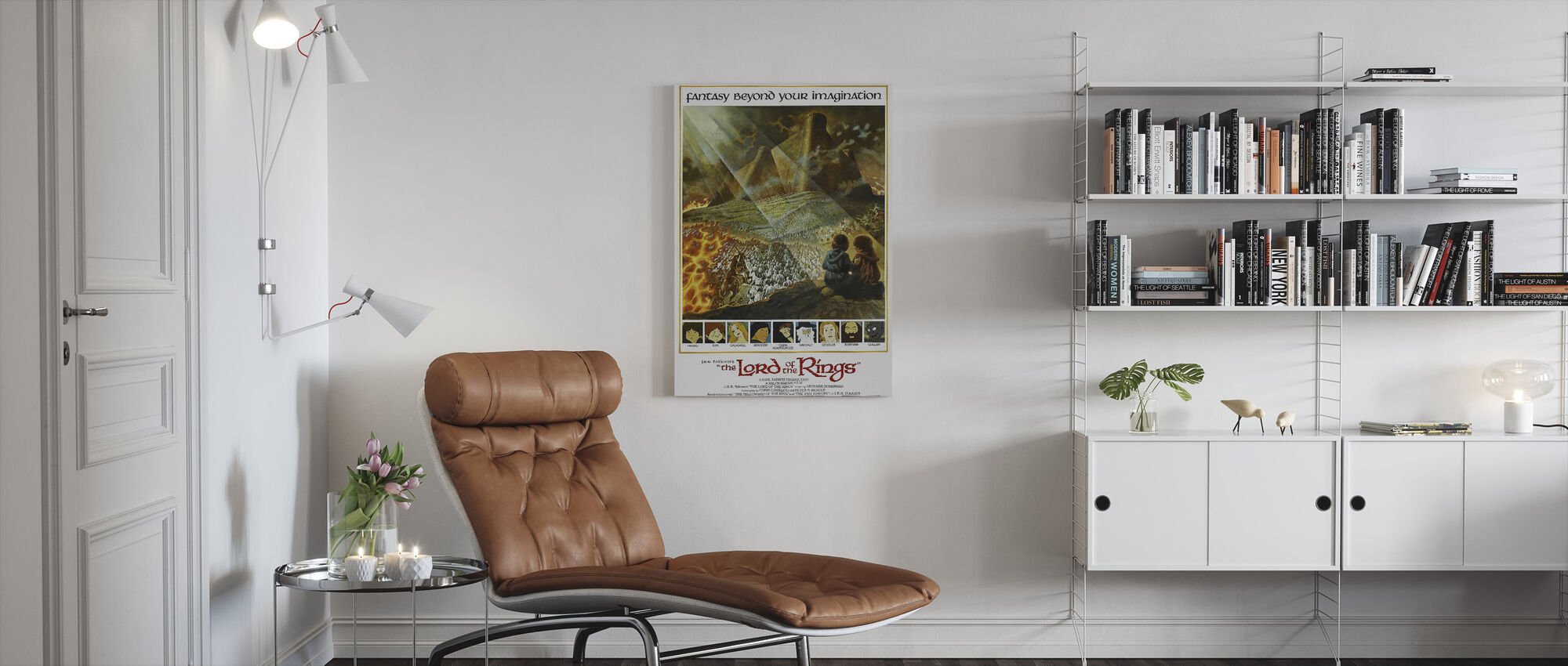 Lord of the Rings - Canvas print - Living Room