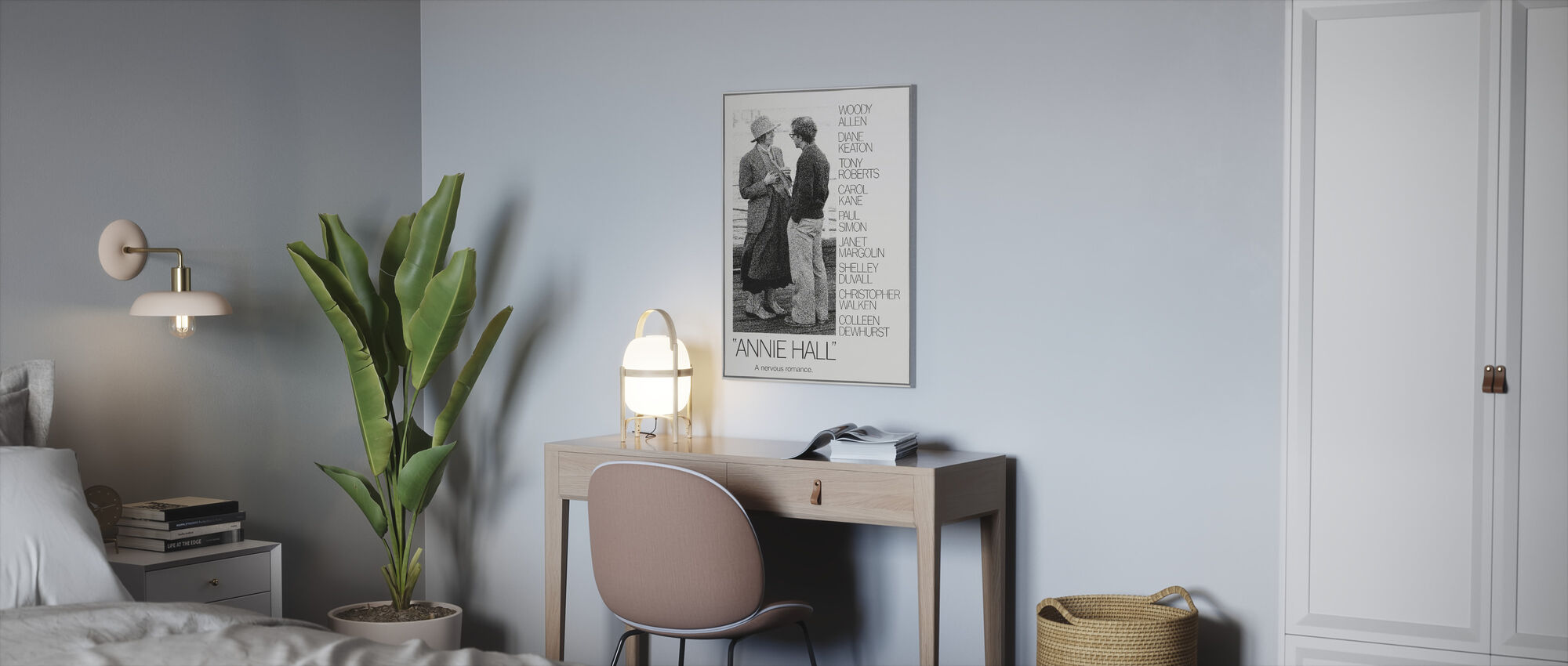 Annie Hall - Canvas print - Office