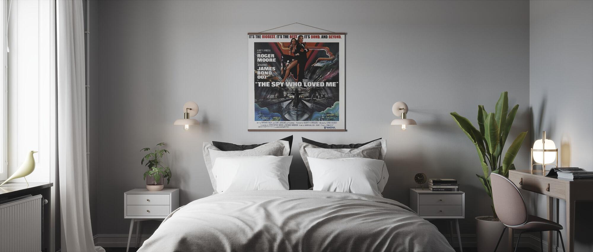 James Bond Spy Who Loved Me - Poster - Bedroom