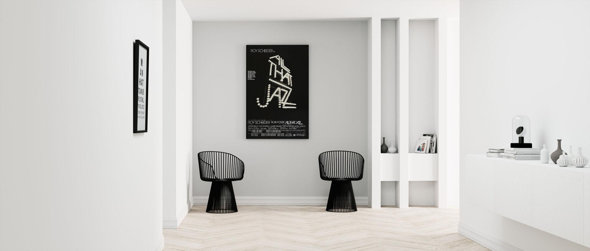 All That Jazz - Canvas print - Hallway
