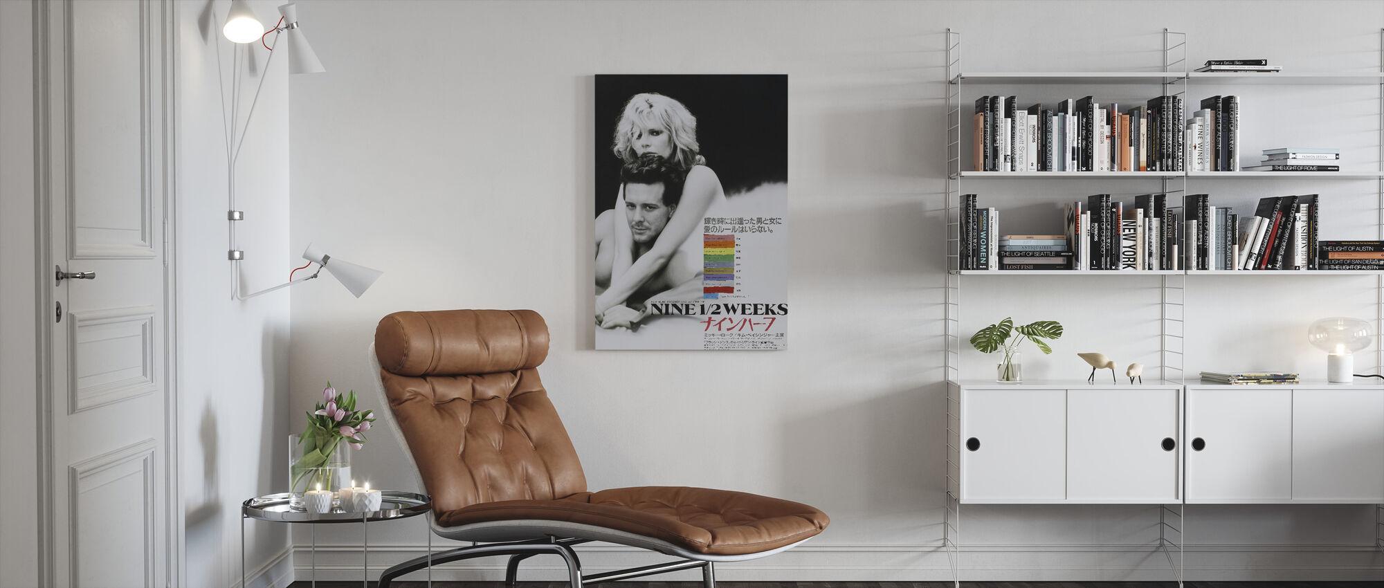 Nine 12 Weeks - Canvas print - Living Room