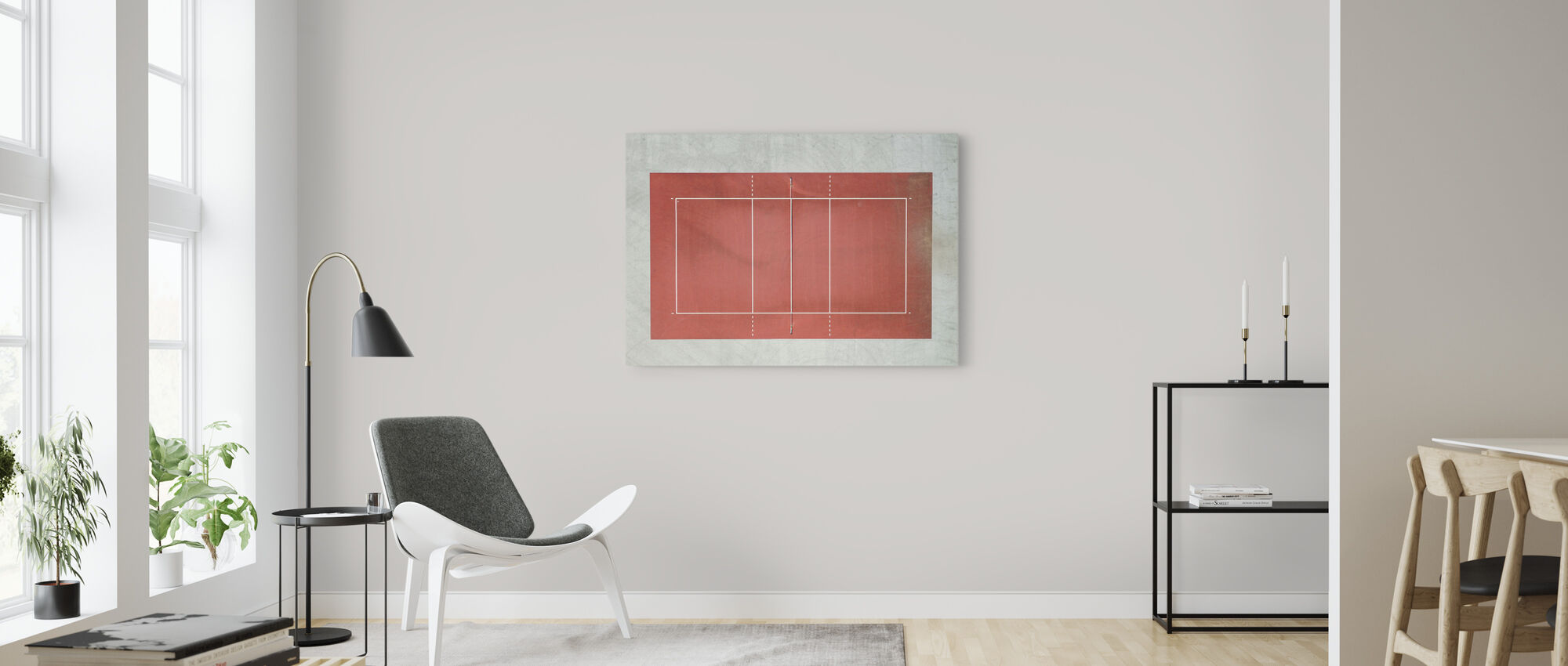 Volleyball Court - Canvas print - Living Room