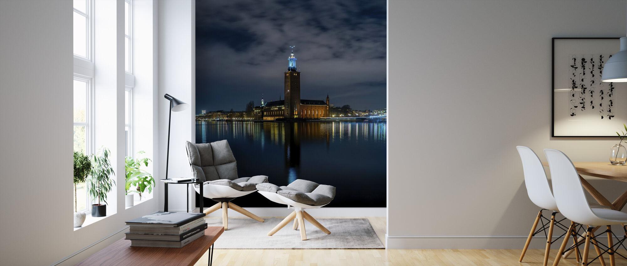 Stockholm City Hall - Wallpaper - Living Room