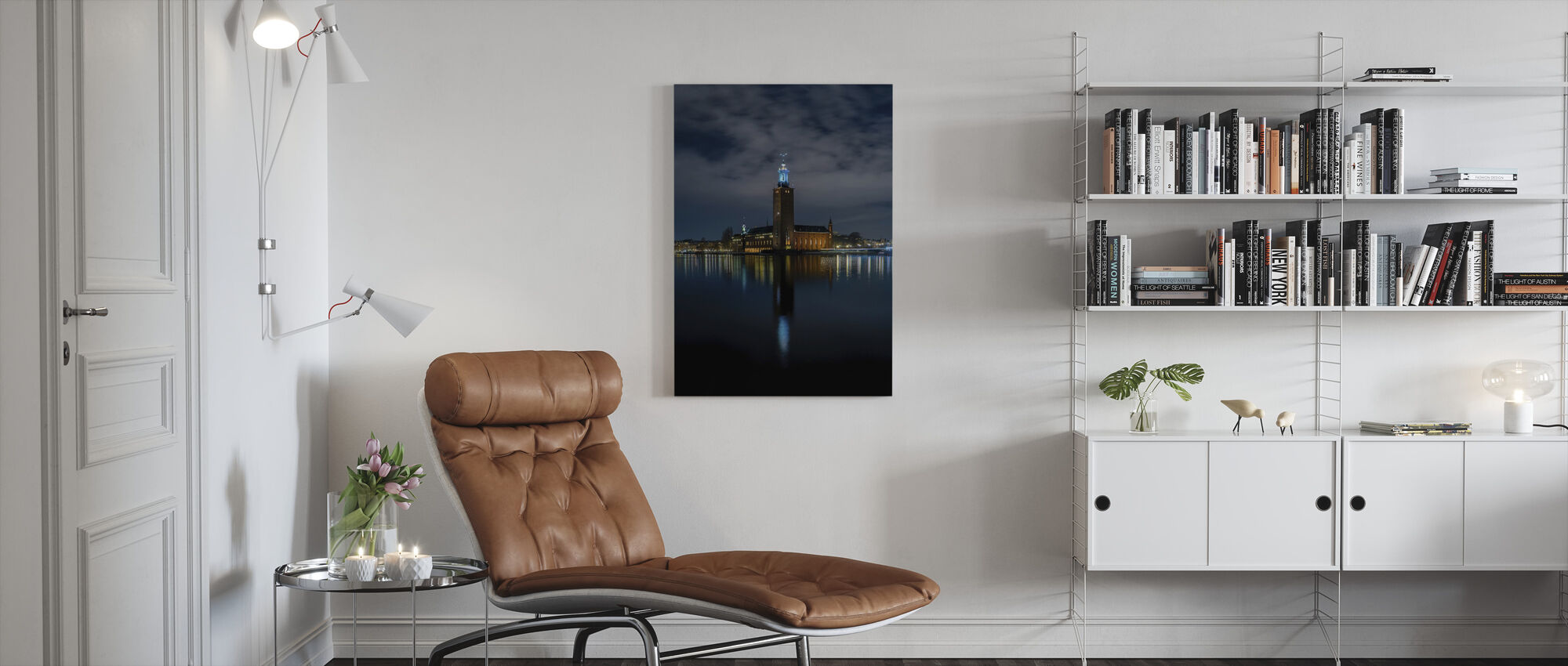 Stockholm City Hall - Canvas print - Living Room