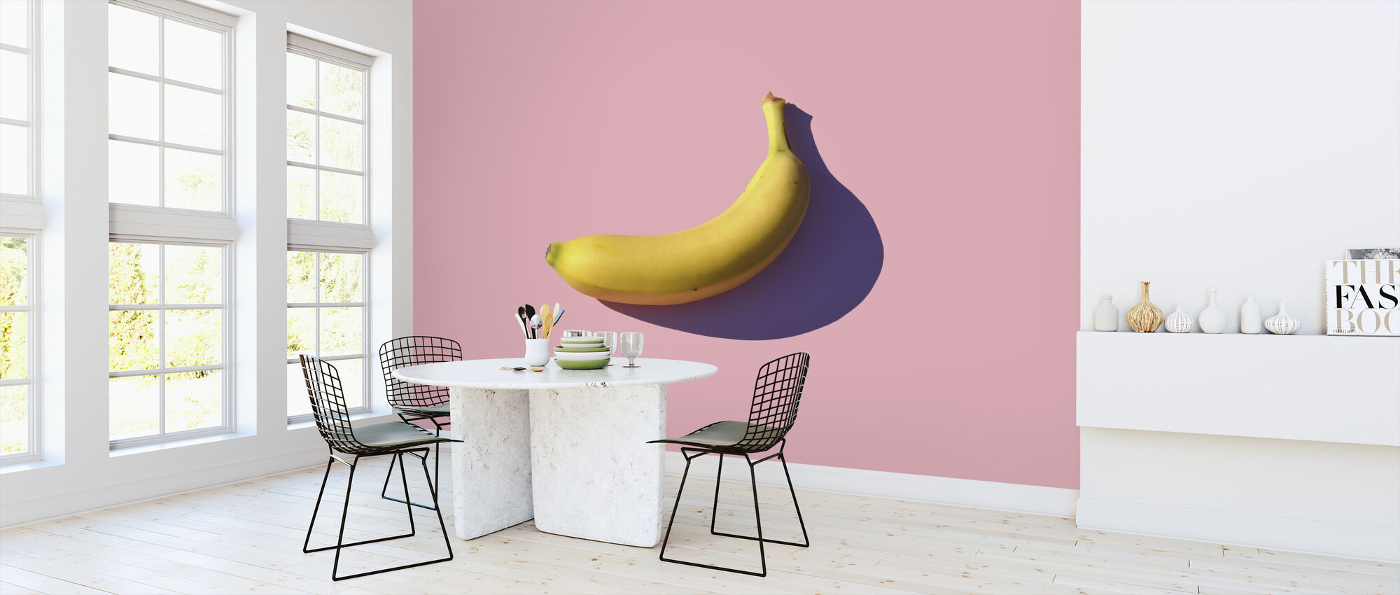 Banana - Wallpaper - Kitchen