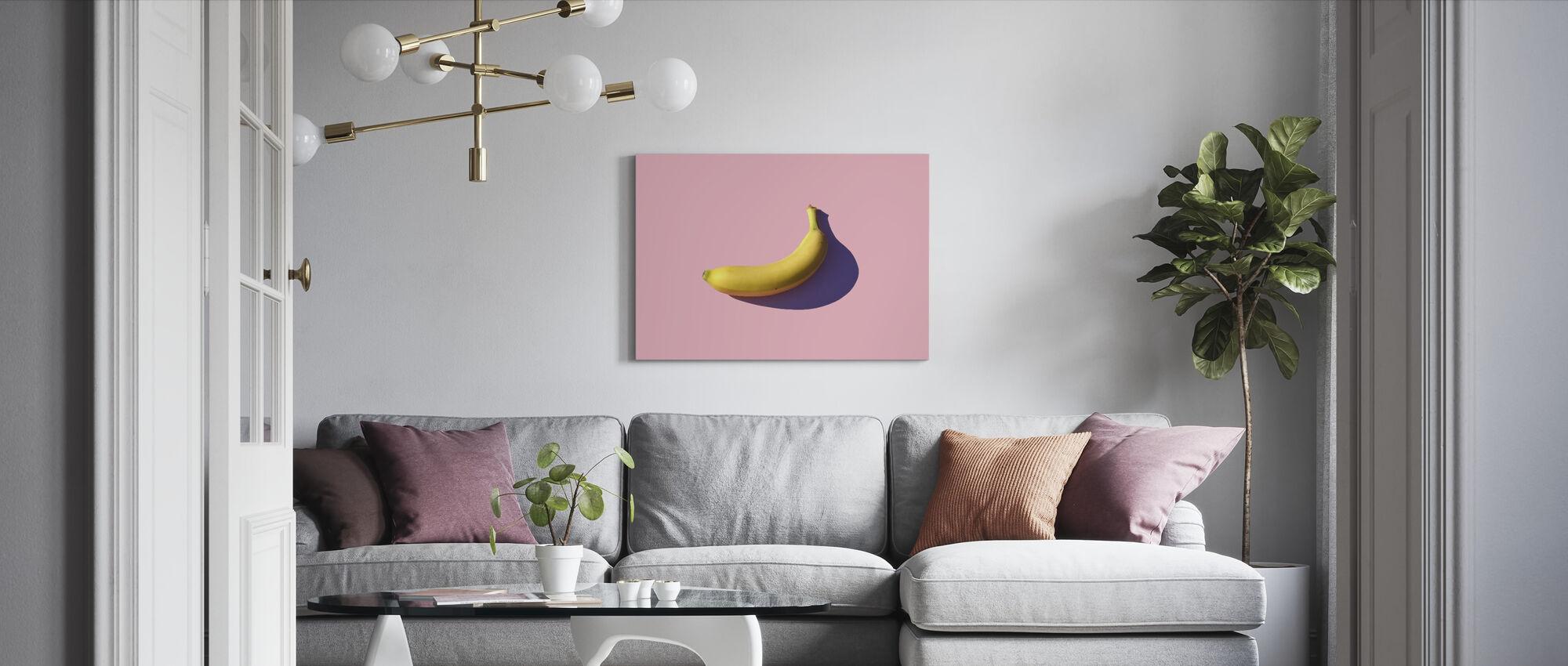 Banane - Leinwandbild - Wohnzimmer