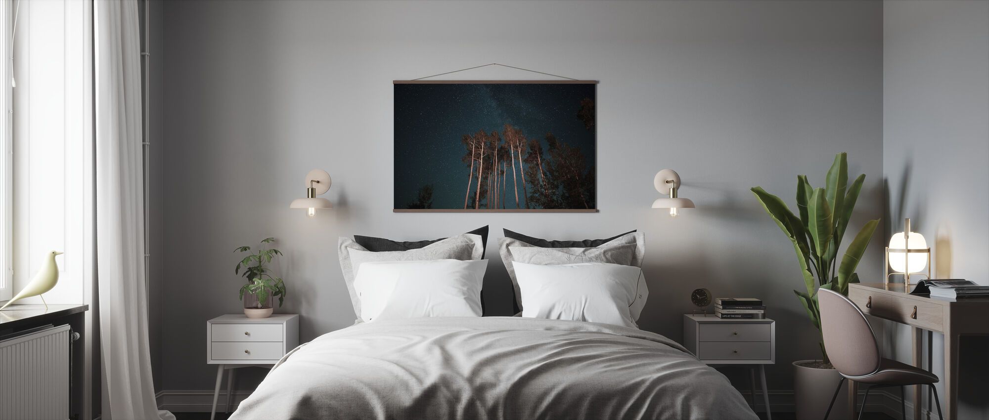 Night Stars - Poster - Bedroom