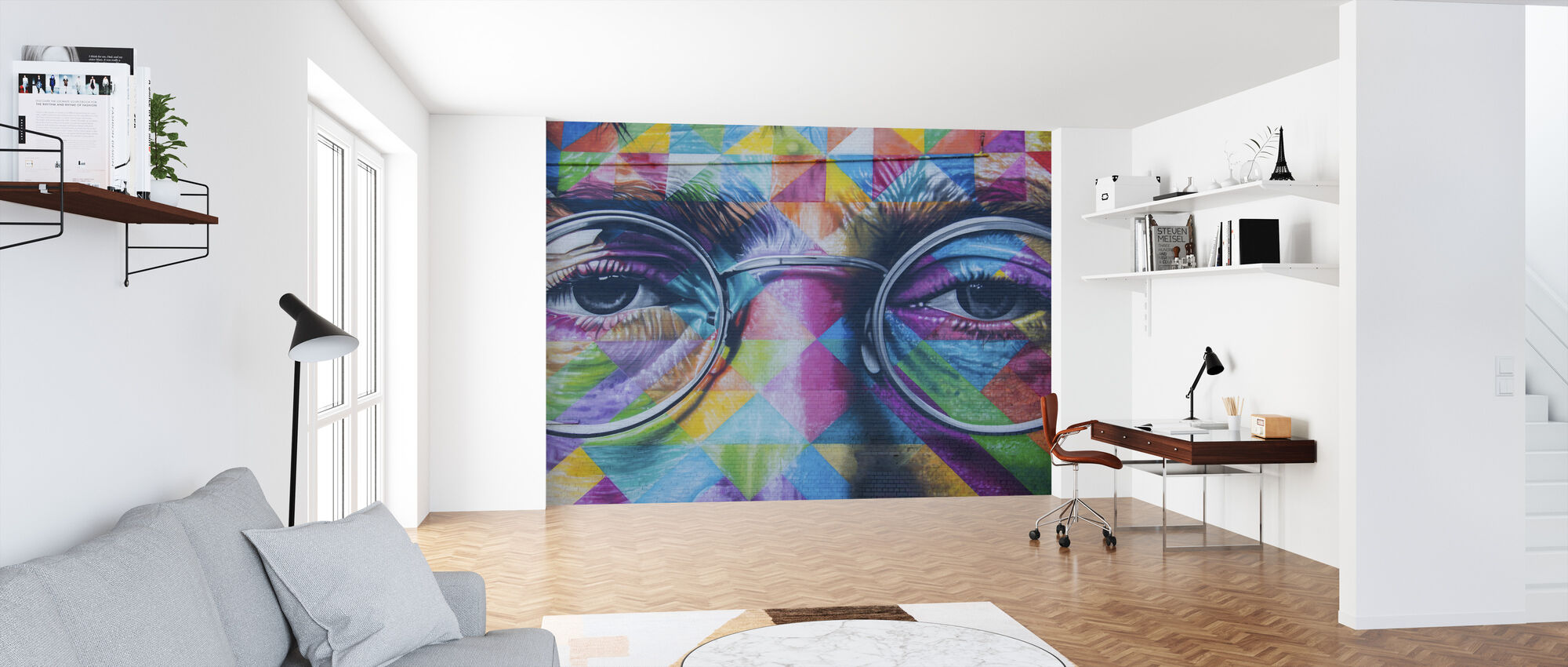 John Lennon Wall Art - Wallpaper - Office