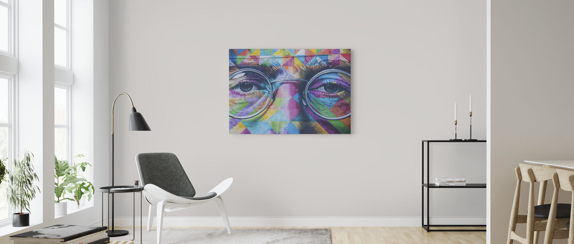 John Lennon Décoration murale - Impression sur toile - Salle à manger
