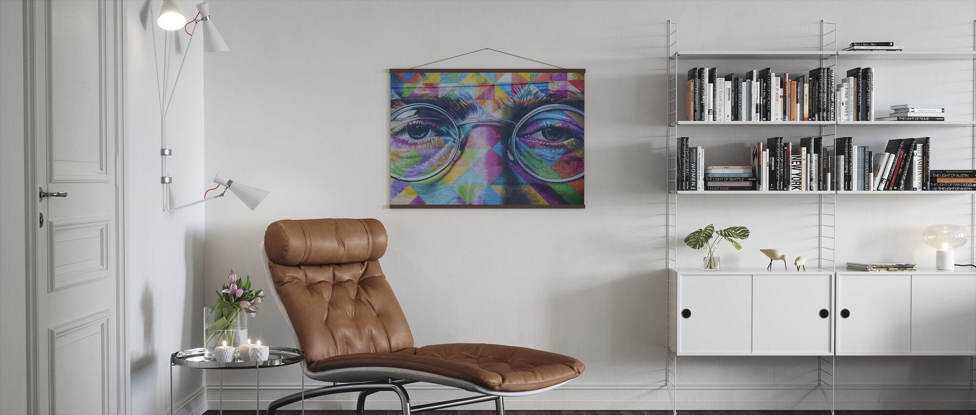 John Lennon Wall Art - Poster - Living Room