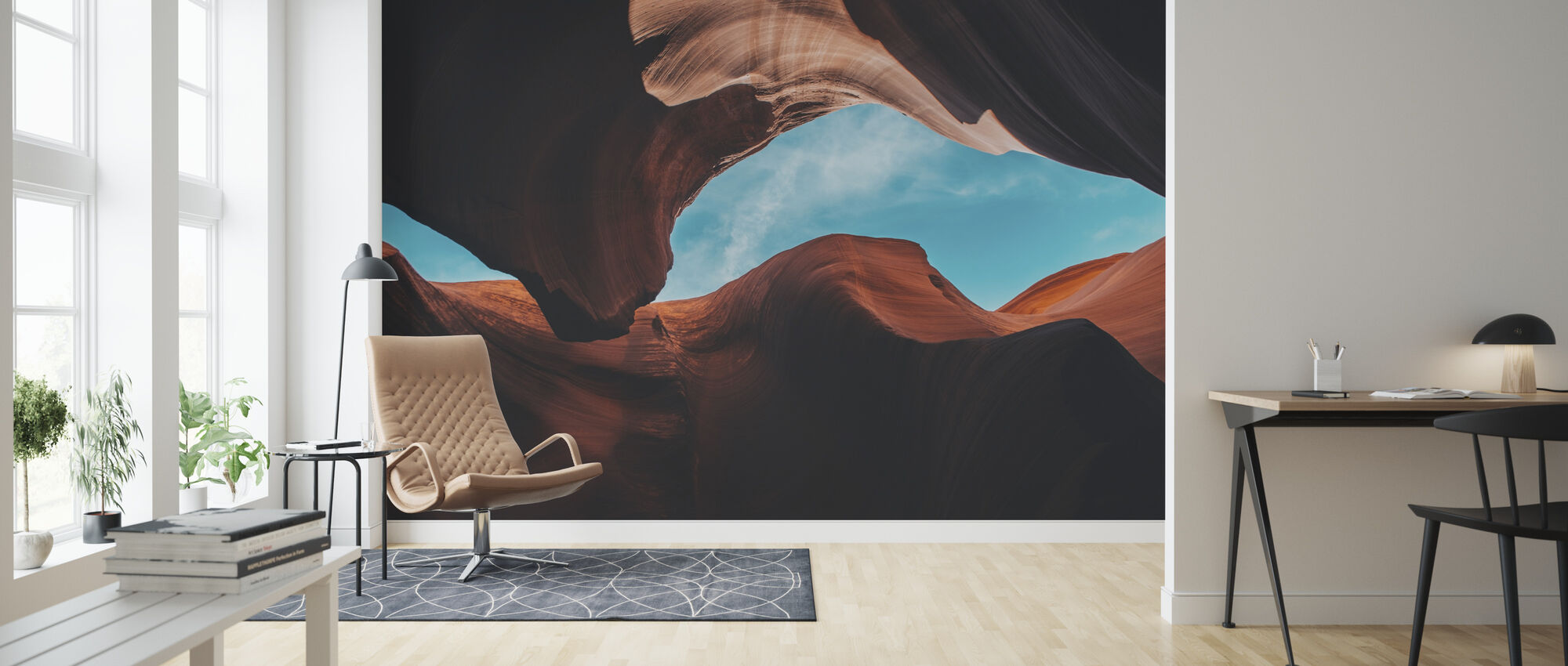 Antelope Canyon - Tapet - Stue