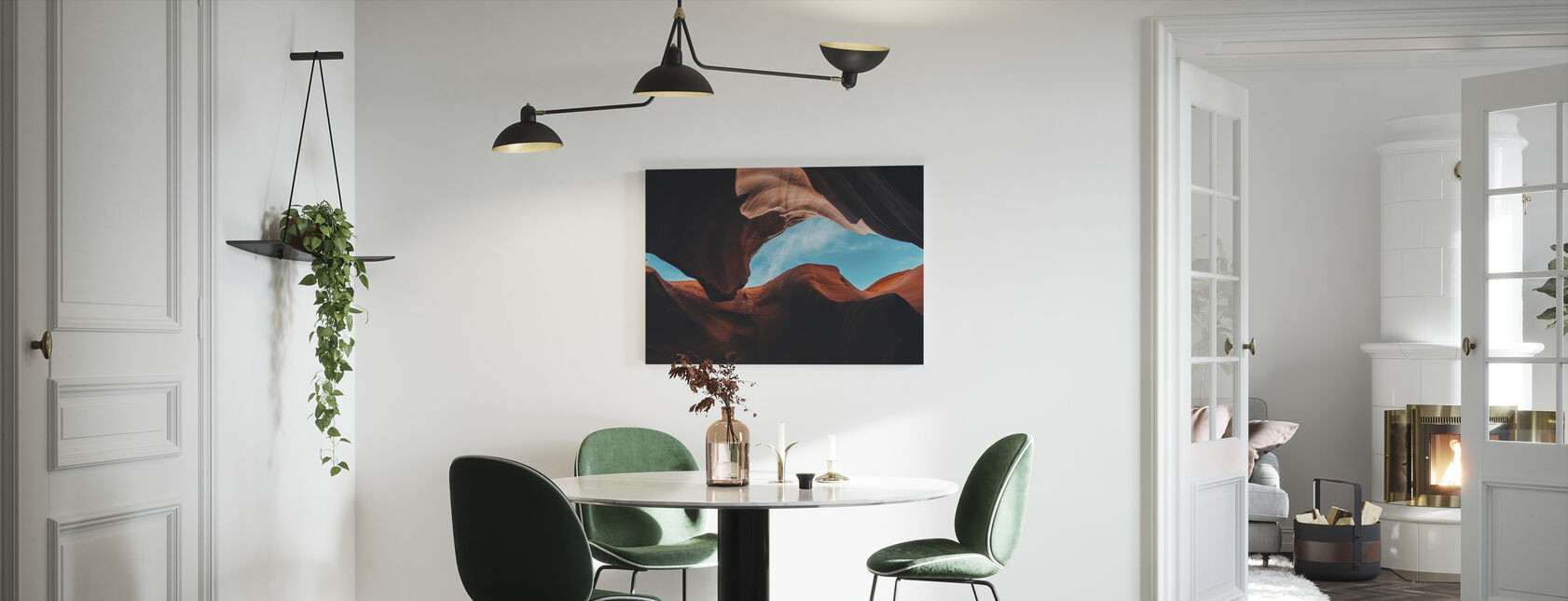 Antilope Canyon - Canvas print - Keuken