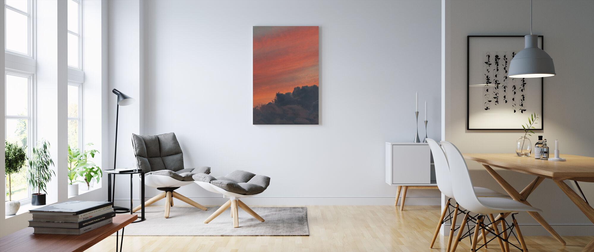 Orange Sky - Canvas print - Living Room