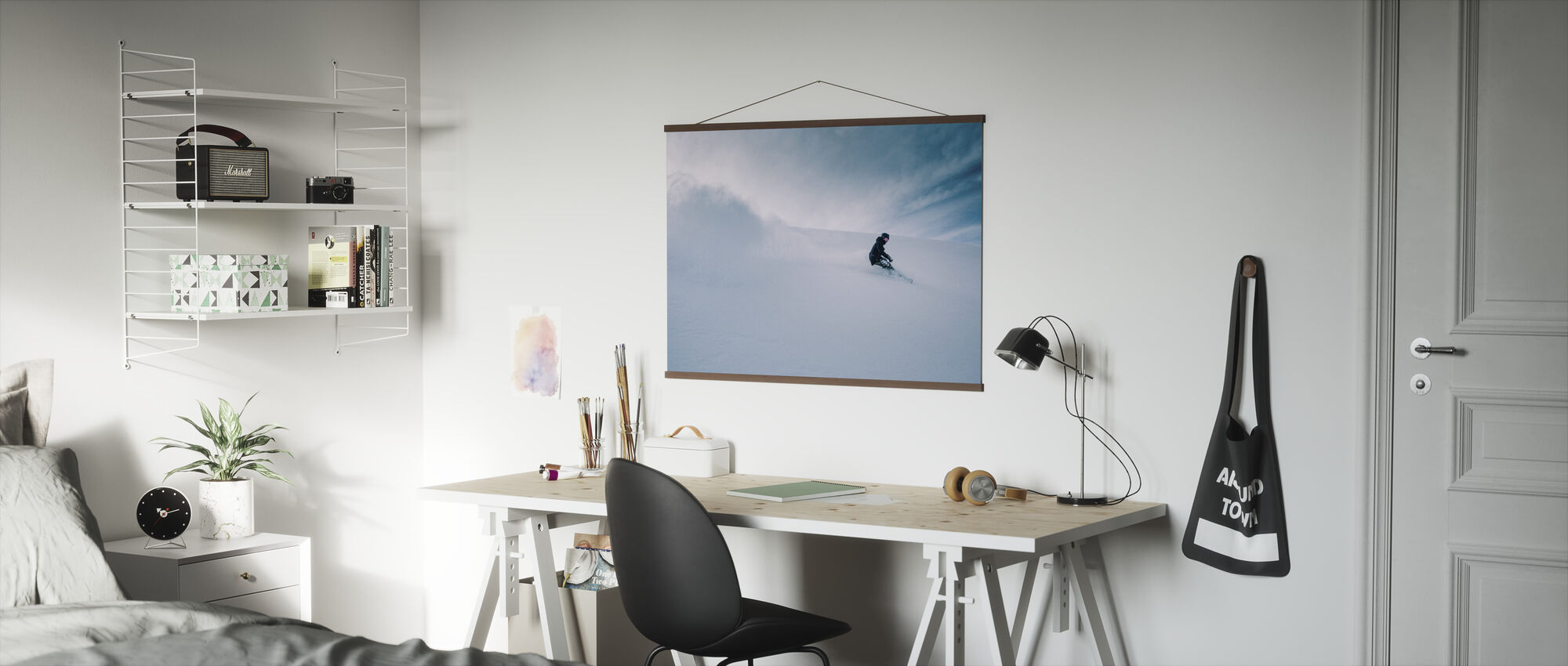 Snowboarder - Poster - Office
