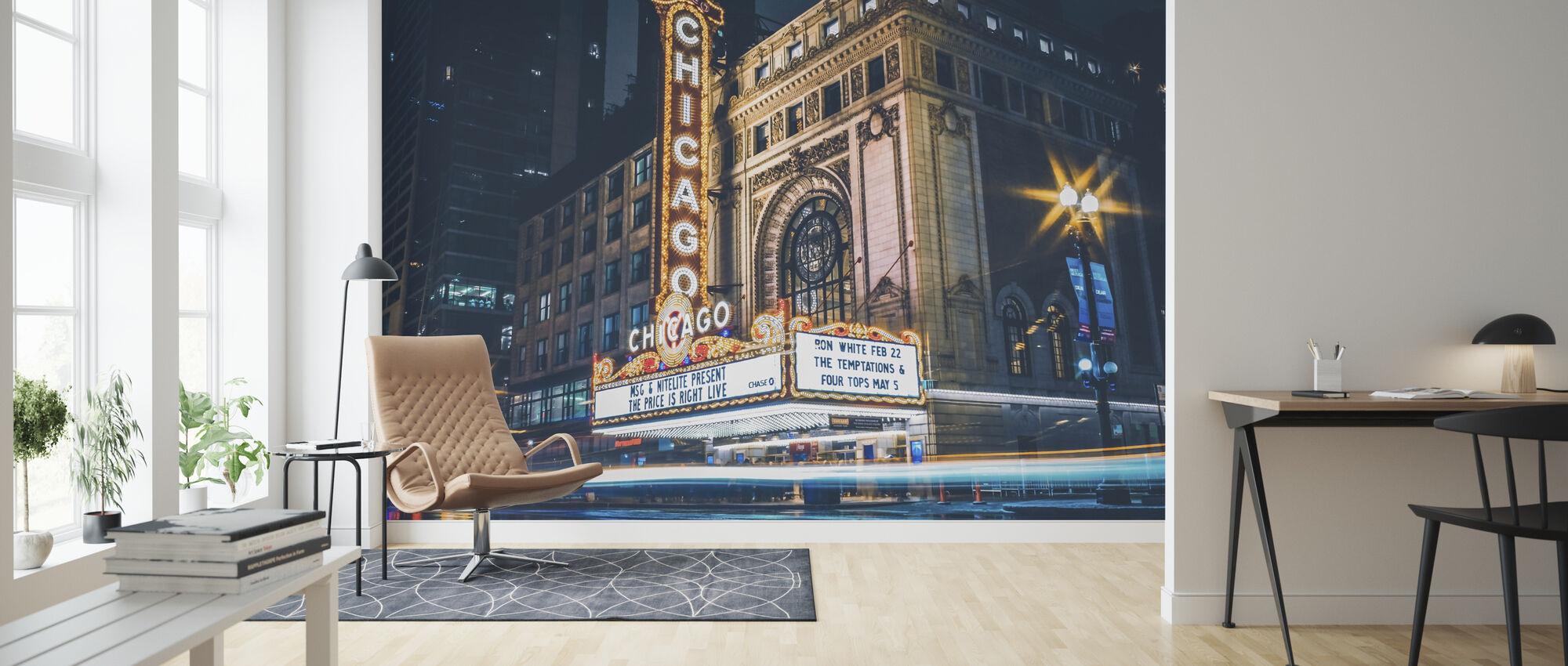 Chicago teater - Tapet - Stue