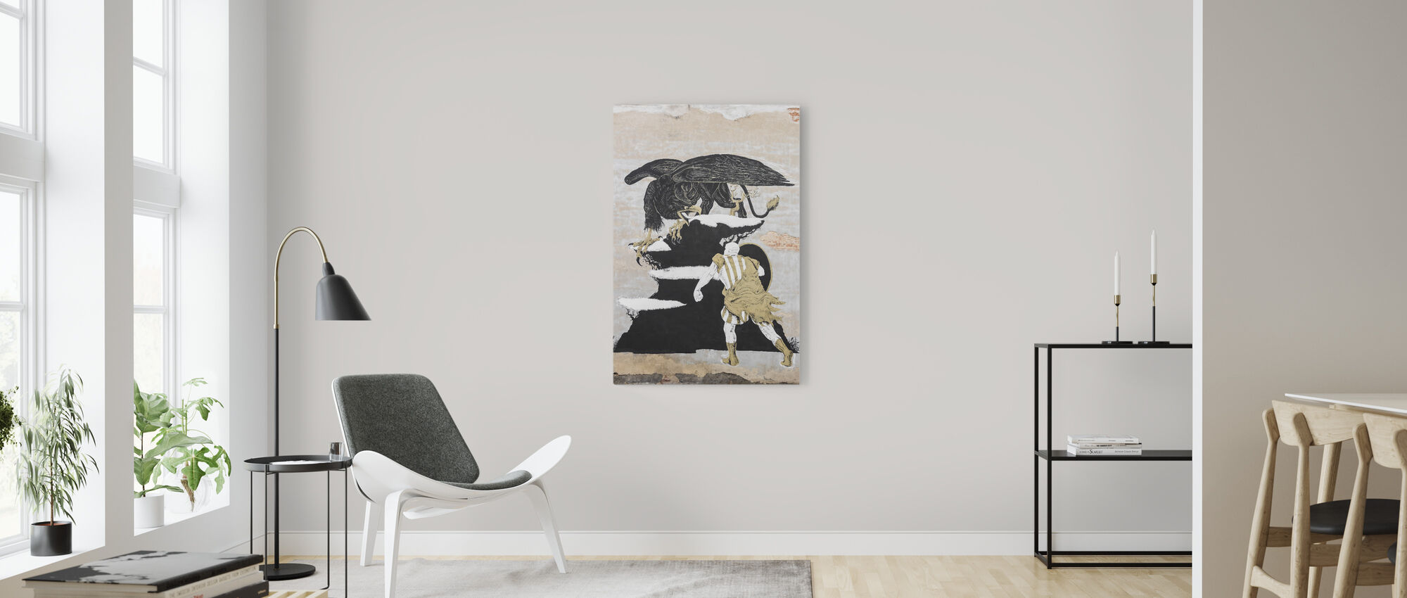 Street Art Painting - Canvas print - Living Room