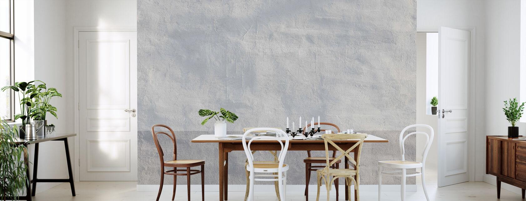 Gray Wall - Wallpaper - Kitchen