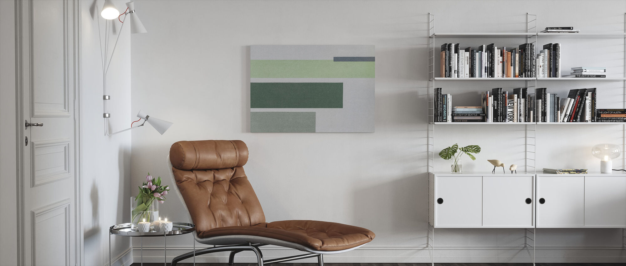 Side Wall - Canvas print - Living Room