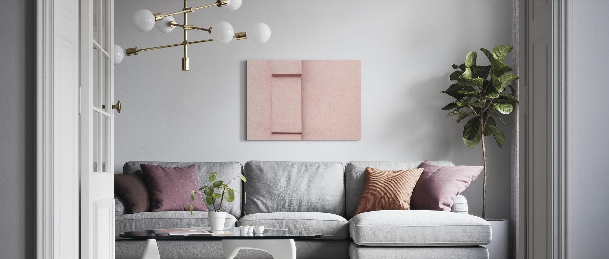 Vibrant Wall - Canvas print - Living Room