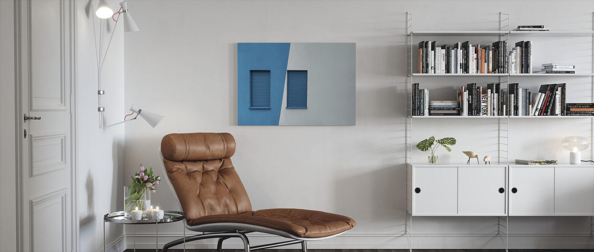 Symmetrical Window - Canvas print - Living Room