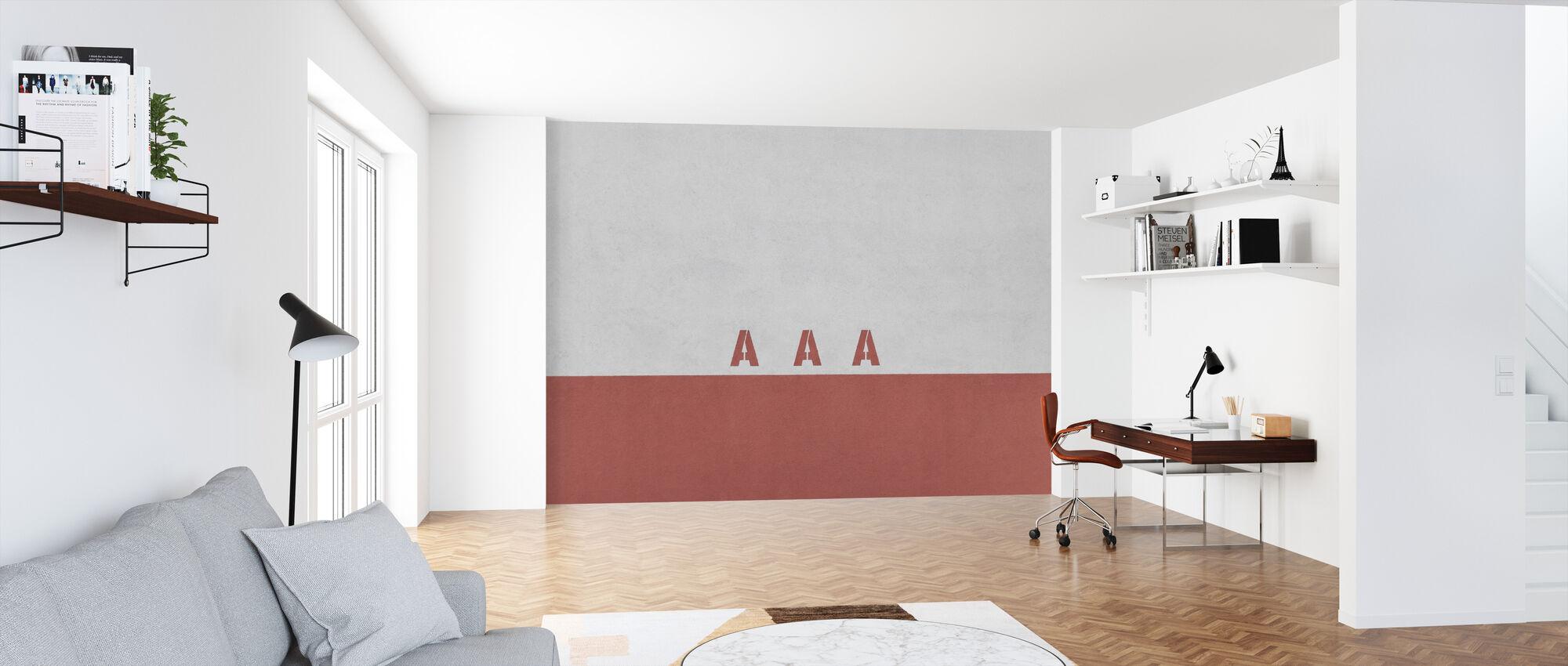AAA væg - Tapet - Kontor