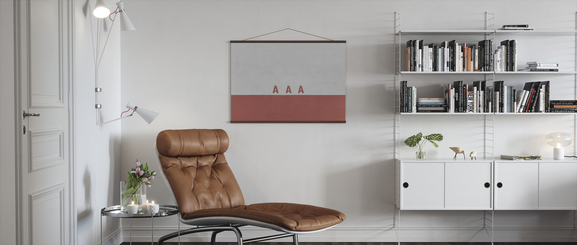 AAA Wall - Poster - Living Room