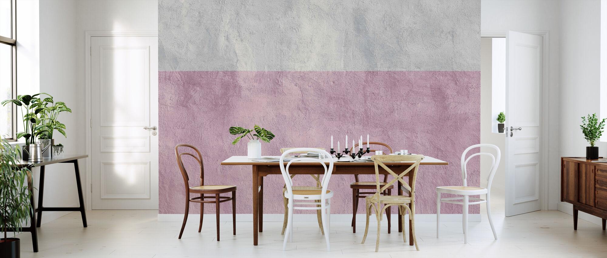 Two-Tone Wallpaper - Wallpaper - Kitchen
