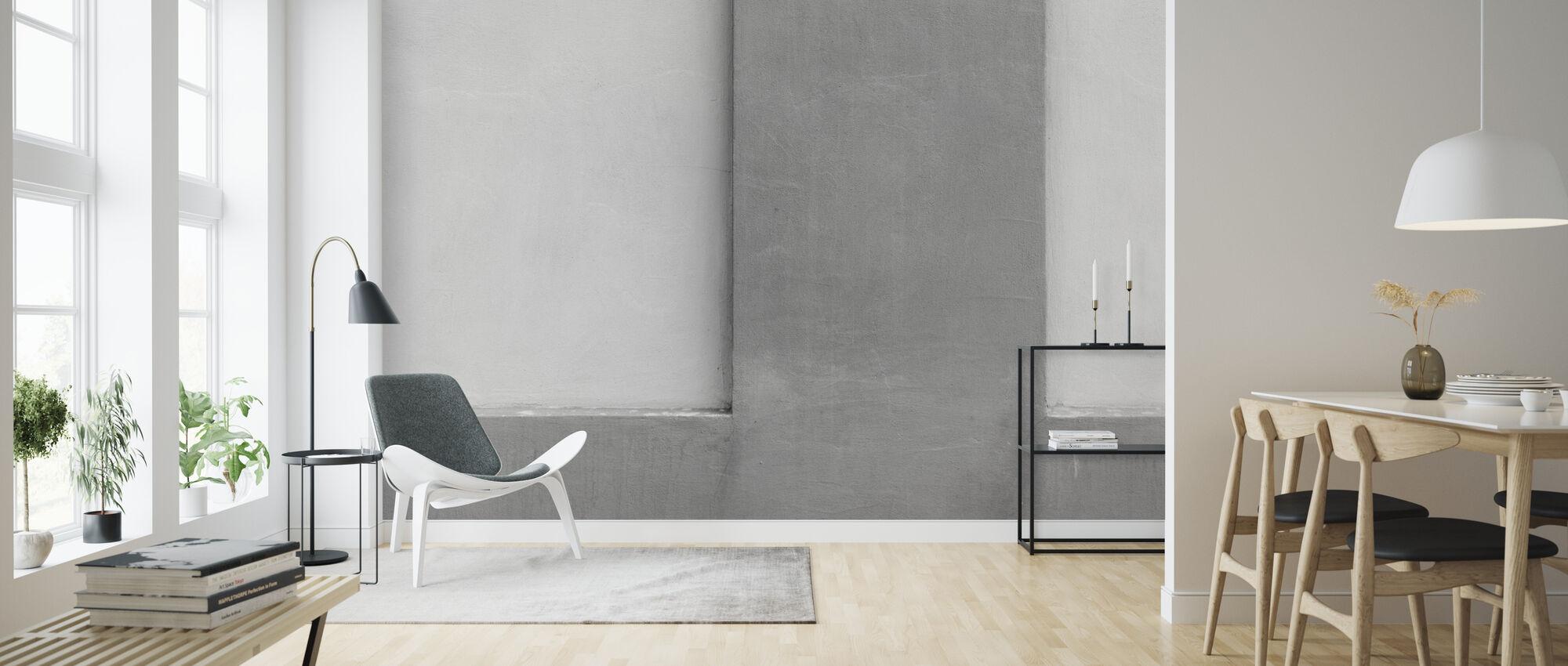 Concrete Texture - Wallpaper - Living Room