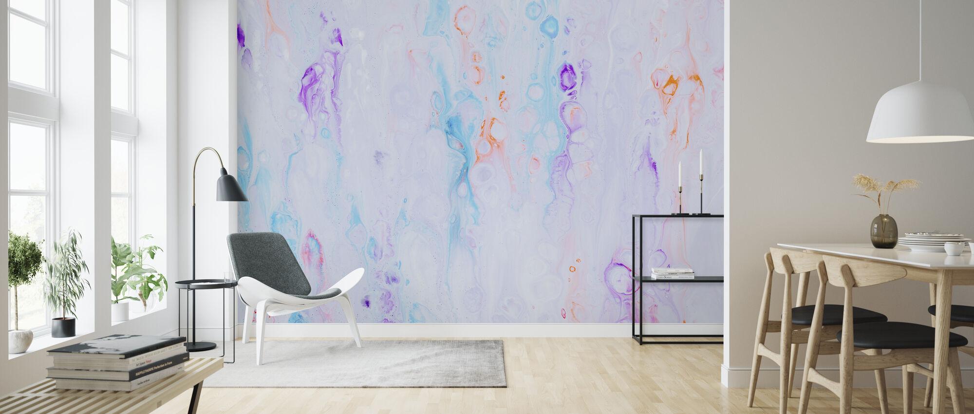 Colorful Art Canvas - Wallpaper - Living Room