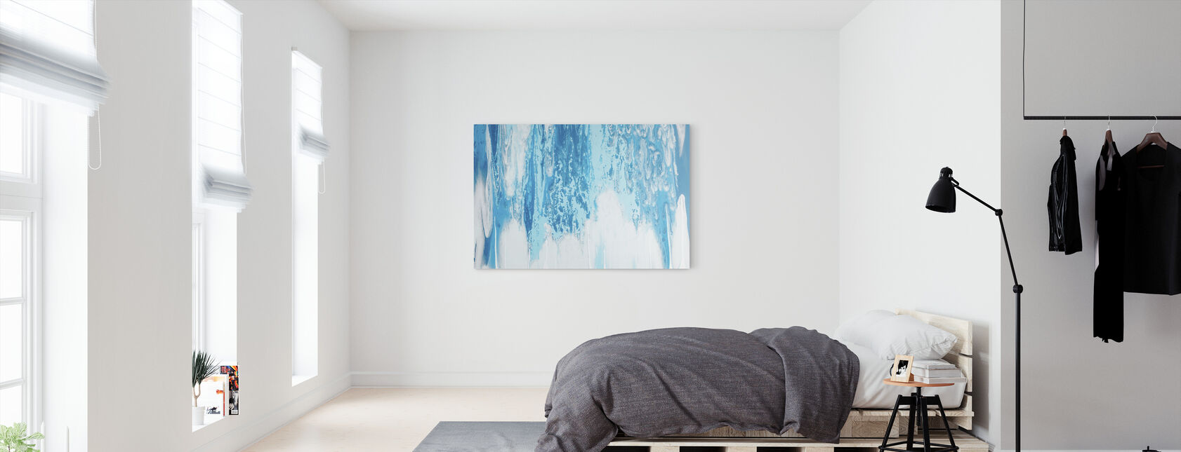 Sky Cloud Pattern - Canvas print - Bedroom