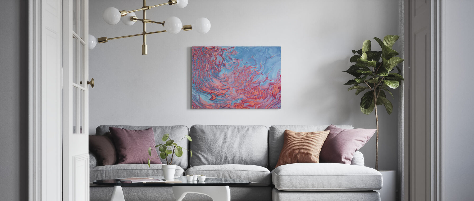 Abstract Painting - Canvas print - Living Room