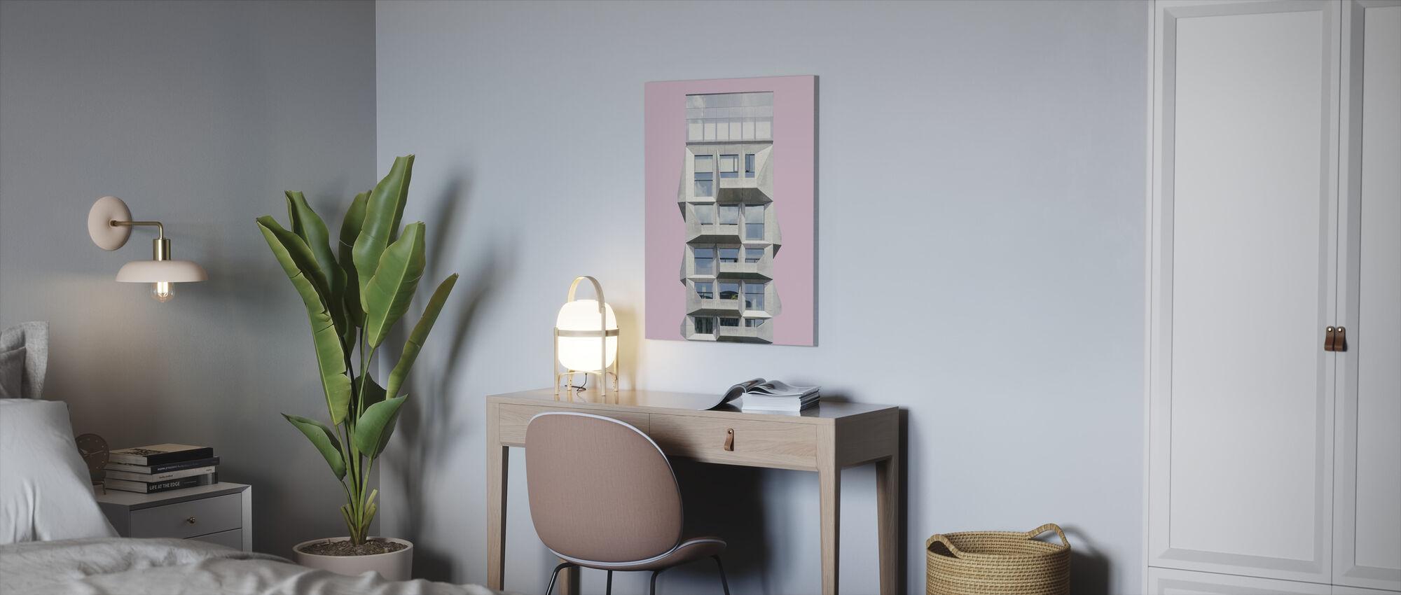 Silo in Copenhagen - Canvas print - Office