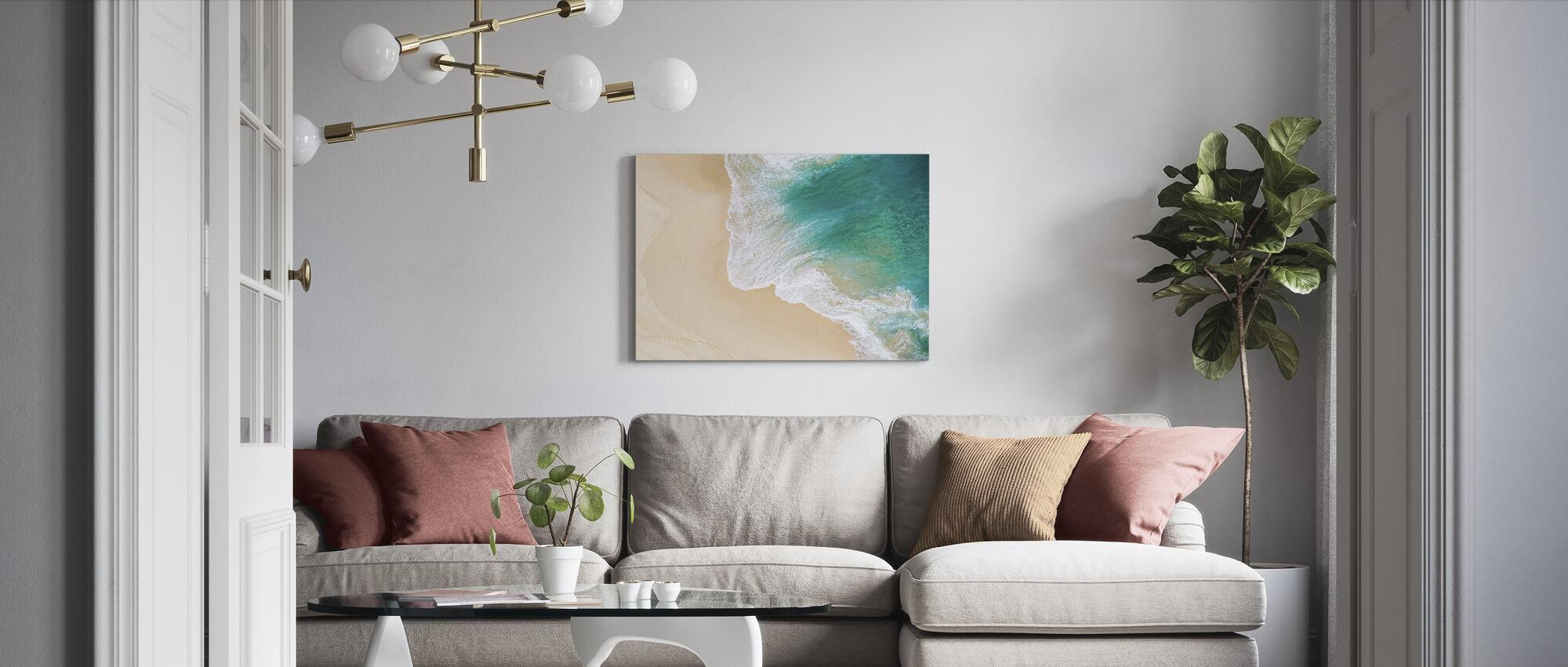 Ocean Waves - Canvas print - Living Room