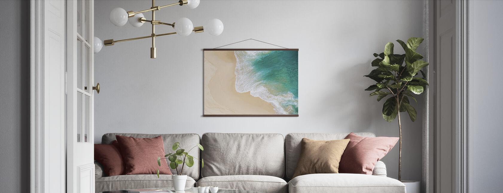 Ocean Waves - Poster - Living Room