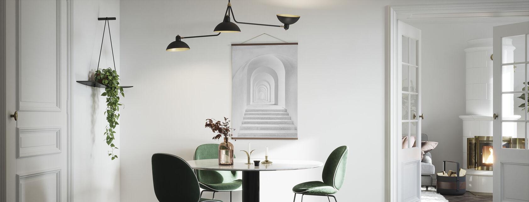 White Archway - Poster - Kitchen