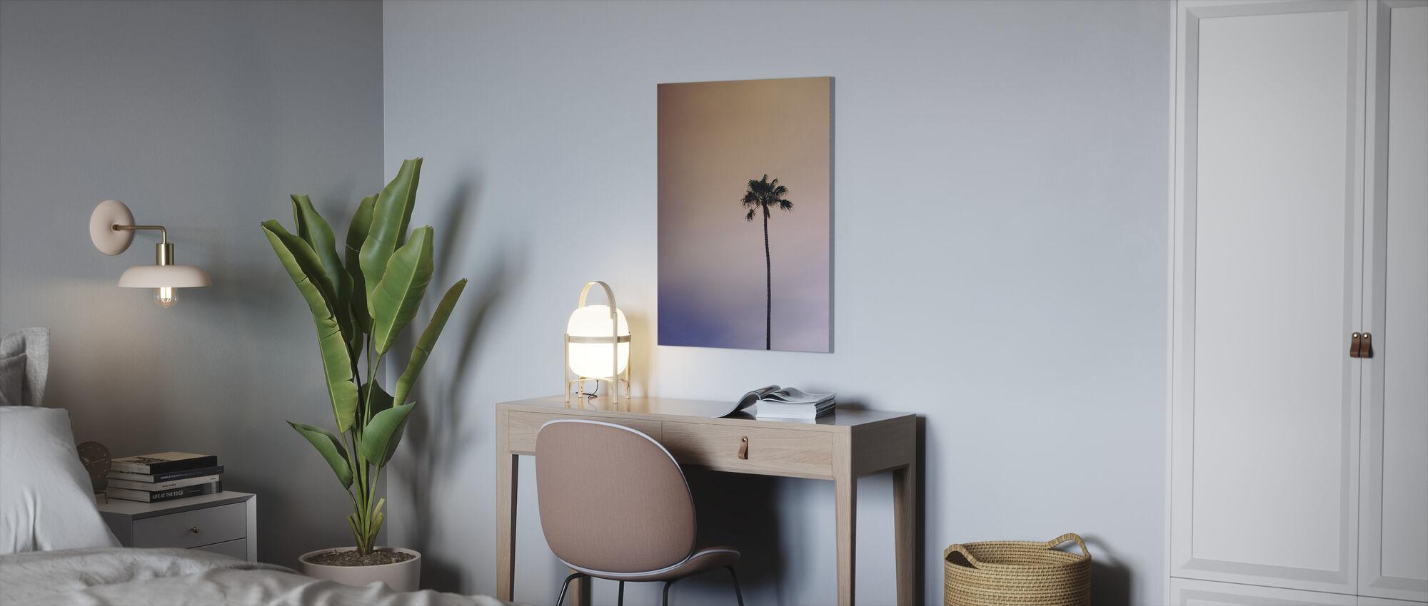 Yksinäinen palmu - Canvastaulu - Toimisto
