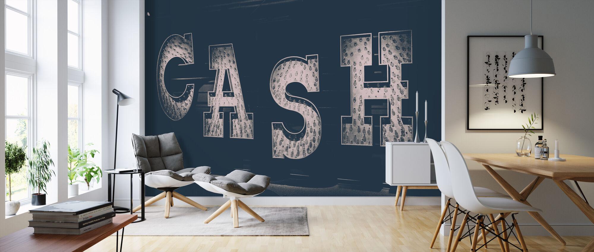 Cash Light Teken - Behang - Woonkamer