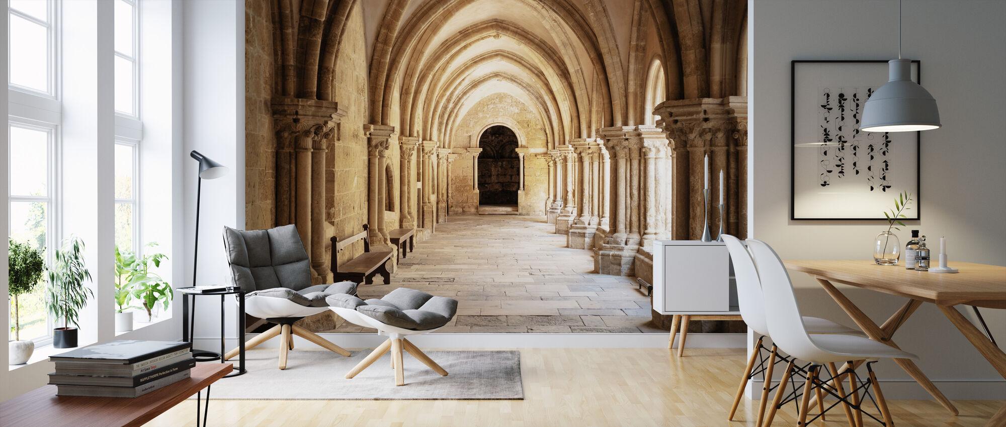 Column Architecture - Wallpaper - Living Room