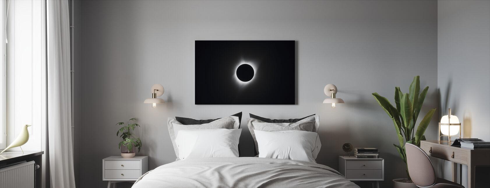 Eclipse yhteensä - Canvastaulu - Makuuhuone
