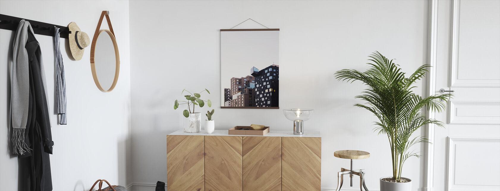 Apartment Blocks - Poster - Hallway