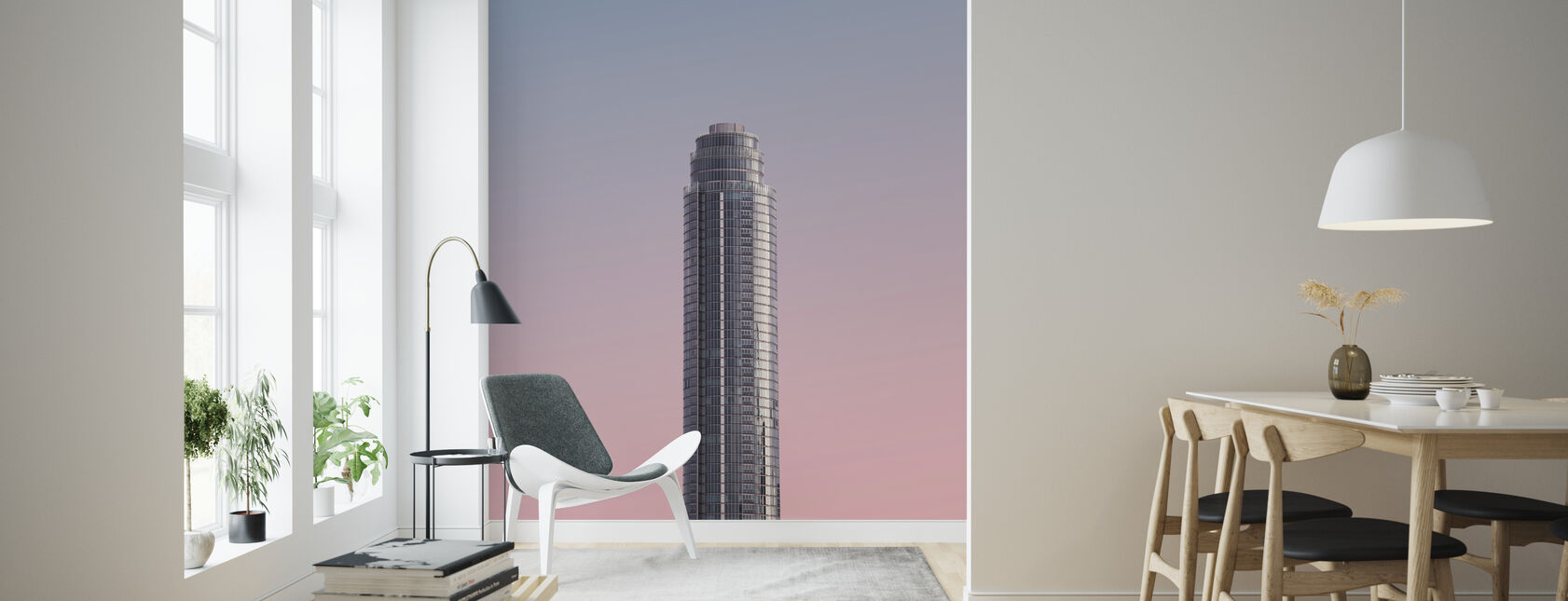 Tower - Wallpaper - Living Room