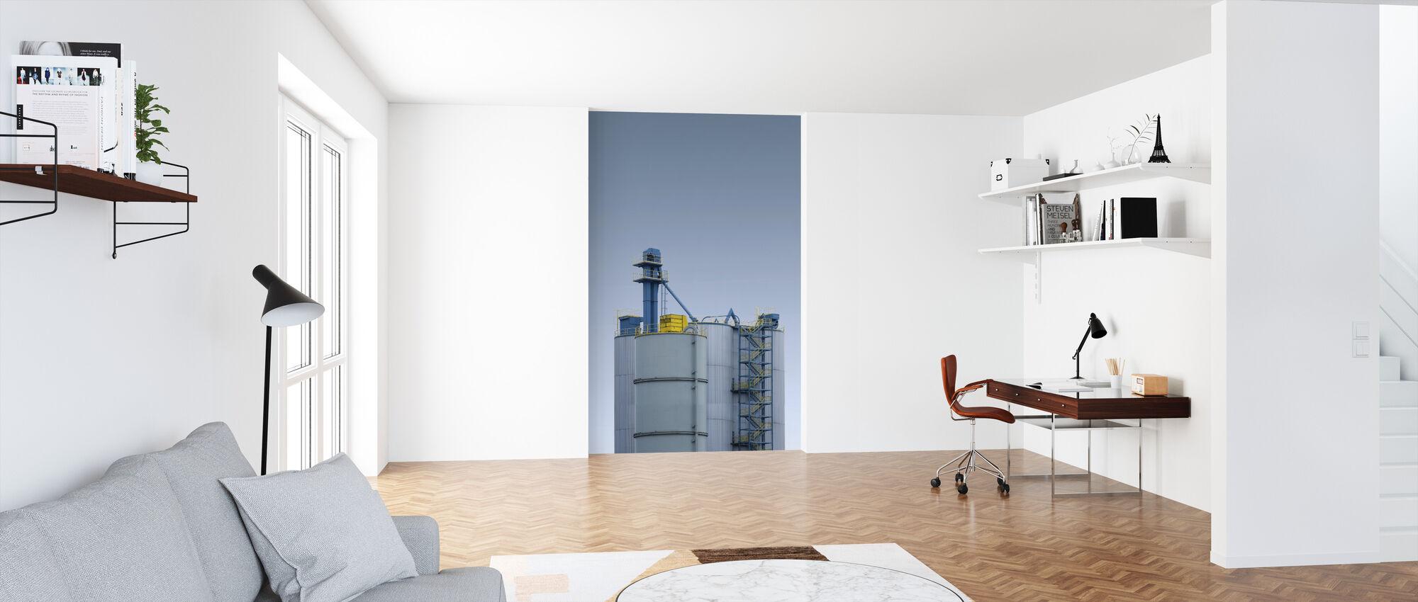 Barrel - Wallpaper - Office