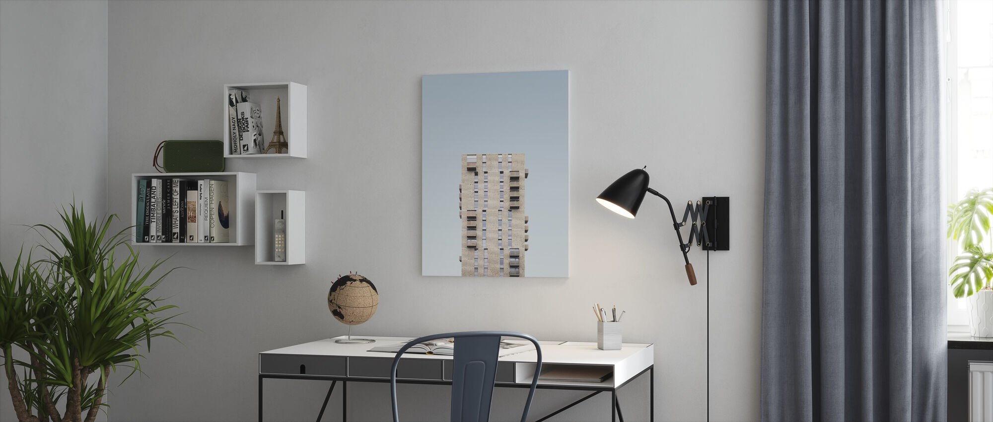 Tower Block - Canvas print - Office