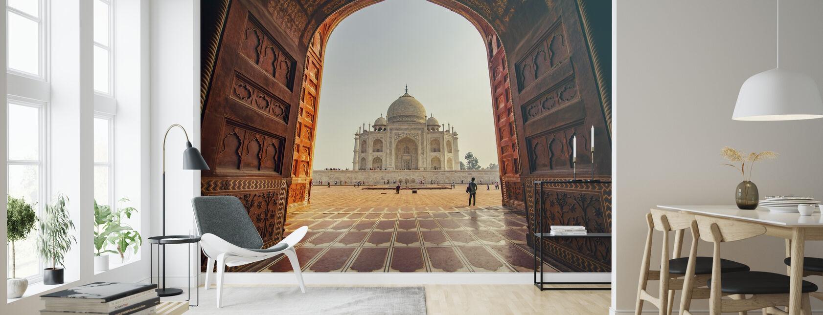 Taj Mahal - Wallpaper - Living Room